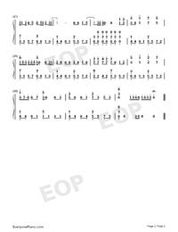 醉夢前塵-魔道祖師主題曲鋼琴譜檔(五線譜、雙手簡譜、數位譜、Midi、PDF)免費下載