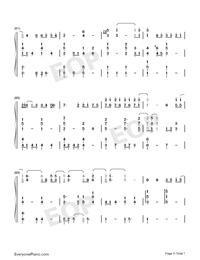 手心的薔薇-初聽讓人感覺到愛情的甜蜜和溫馨鋼琴譜檔(五線譜、雙手簡譜、數位譜、Midi、PDF)免費下載