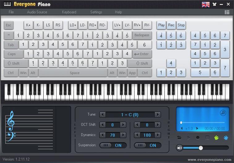 everyone piano-piyano uygulaması