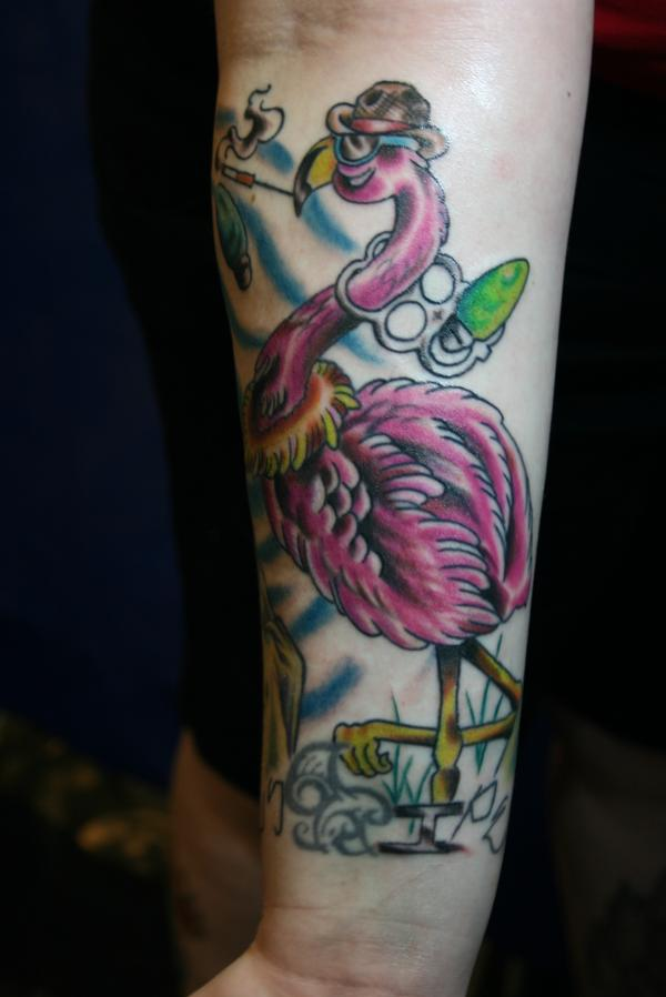 tattoo flamingo (0)