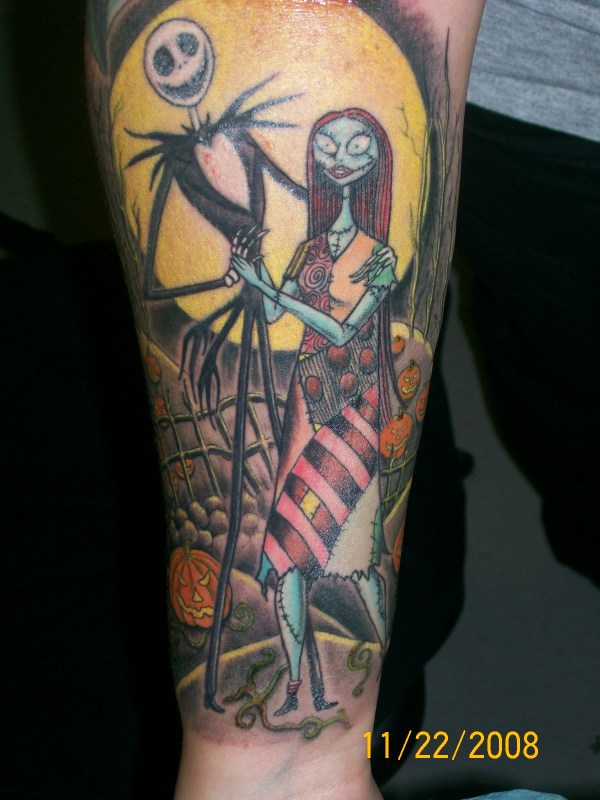 8f7370e69 20+ Jack And Sally Tattoo Drawings Pictures and Ideas on Meta Networks