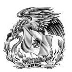 Mexican Eagle Tattoo Small