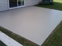 A Concrete Overlay Makeover - How I Resurface Ugly Concrete