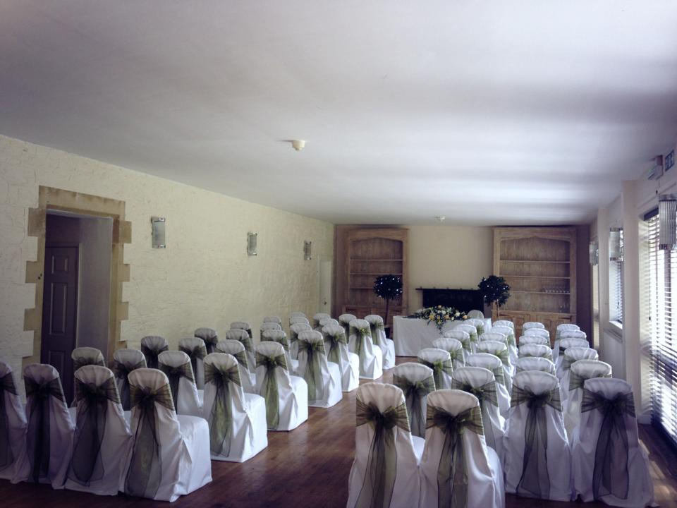 chair cover hire south wales bye baby high chairs everything covered | rudloe hall hotel olive green