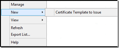Creating the vmware ssl cert template everything virtual right click on certificate templates and click new and then certificate template to issue yadclub Image collections