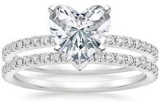 Most Popular Jewelry Tiffany Heart Shaped Diamond Ring Price