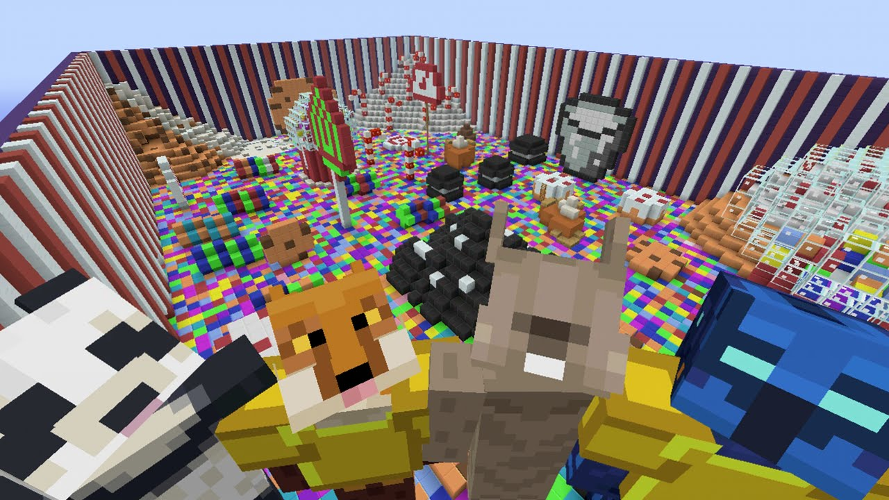 Minecraft Xbox Hide And Seek Candy Land Everything 4