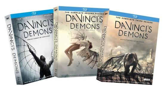 DaVincis Demons BD Prize Pack