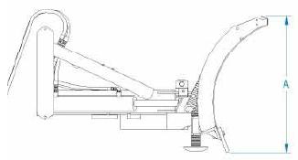 FFC Snow Blade 114 Series, Hydraulic Angle