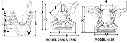 Bradco Skid Steer, Skidsteer, Tree Spade Model 4425, 25