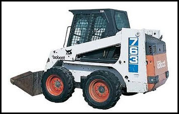 Bobcat 763 Skid Steer - Attachments - Specifications