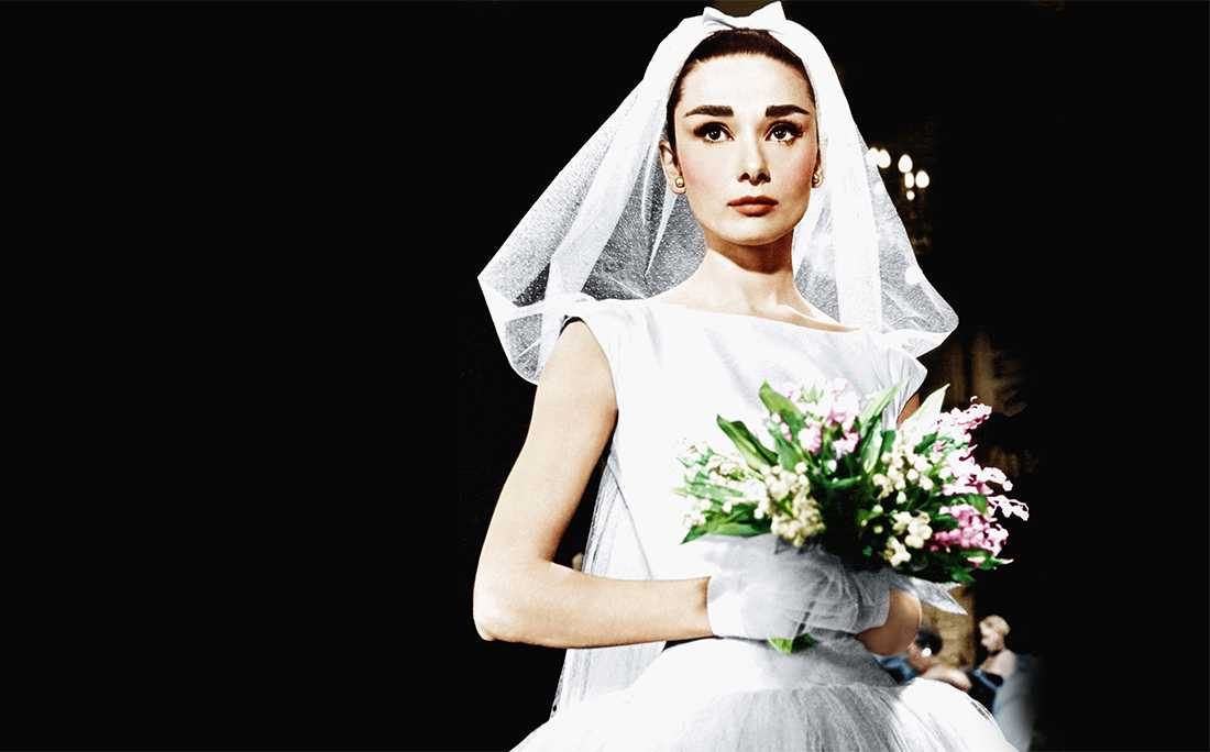 Audrey Hepburn Wedding Dress Photos Ceremonies & Dress