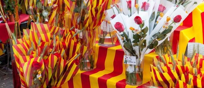 Rosen zum Dia de Sant Jordi