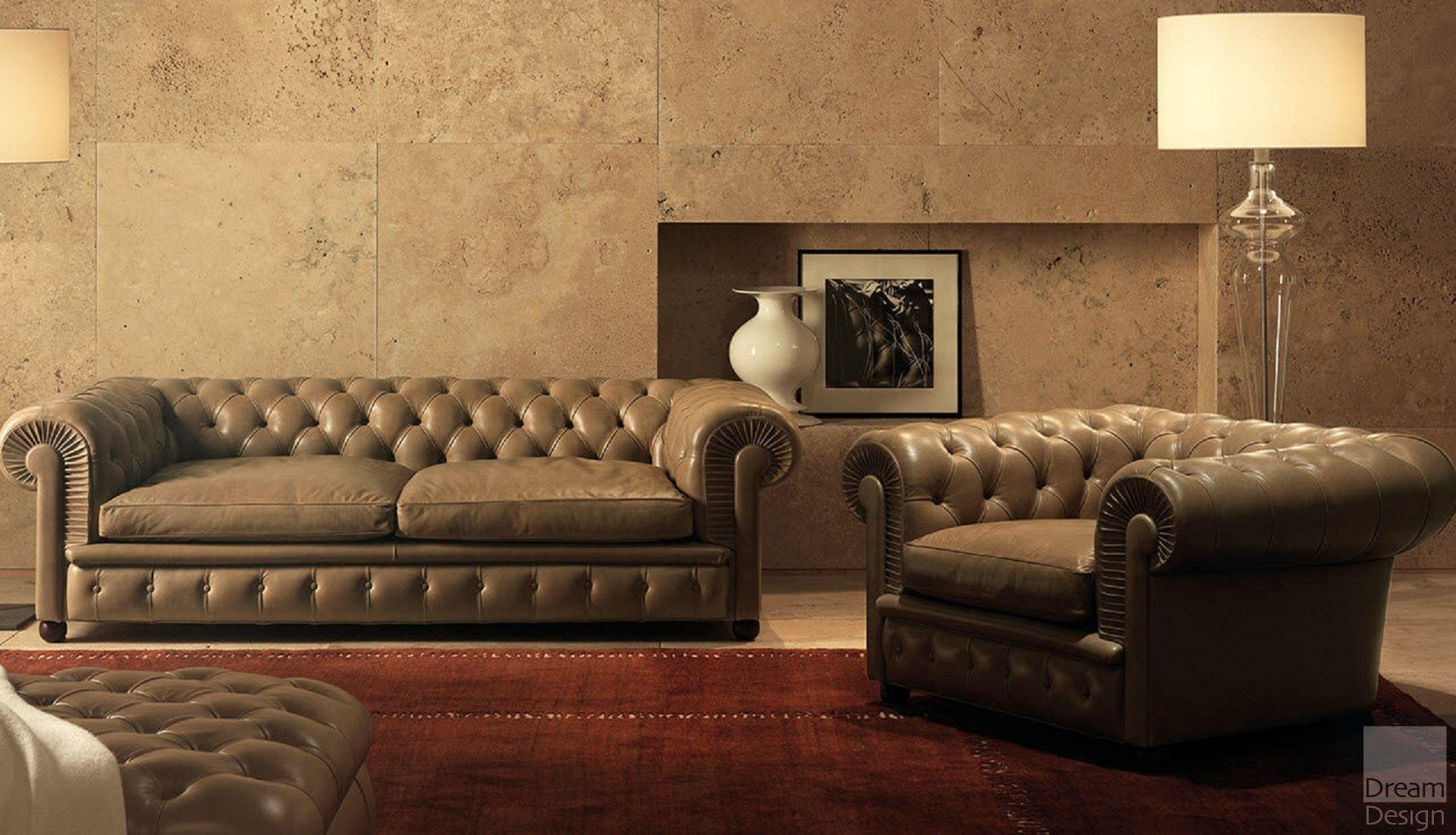 Poltrona Frau Chester One Armchair by Renzo Frau  EBO