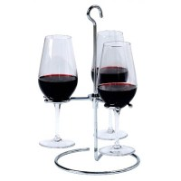 Trio Wine Flight Glass Holder