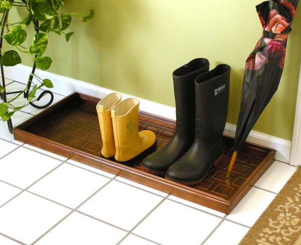 Shoe Boot Tray Copper