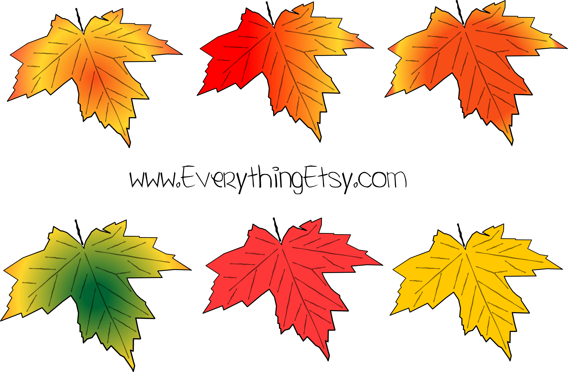 Fall Leaves A Little Early 5 Free Etsy Banners For Fall
