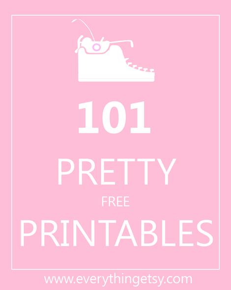 101_pretty_free_printables