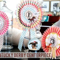 Wedding Chair Back Decorations Best Massage Brand 12 Diy Kentucky Derby Inspired Ideas - Everythingetsy.com
