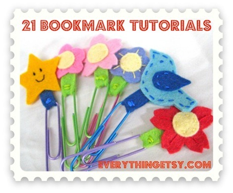 21 Bookmark Tutorials for Back to School