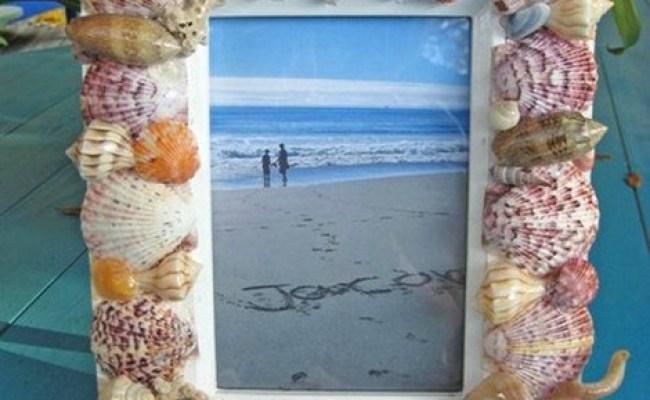 Shell Frame Tutorial Tips Handmade Gift