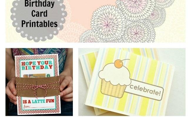 8 Free Birthday Card Printables Everythingetsy