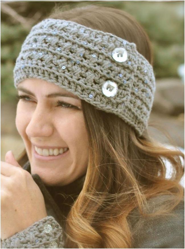 Knit Ear Warmer Pattern