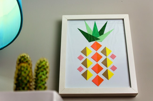 25 Pineapple Crafts  Free Printables DIY Goodness