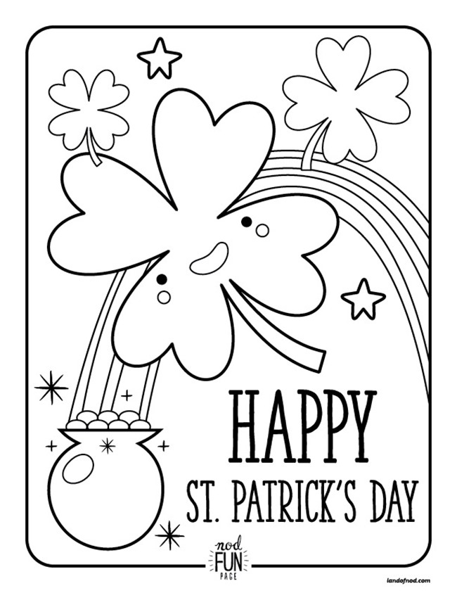 12 St. Patrick's Day Printable Coloring Pages for Adults