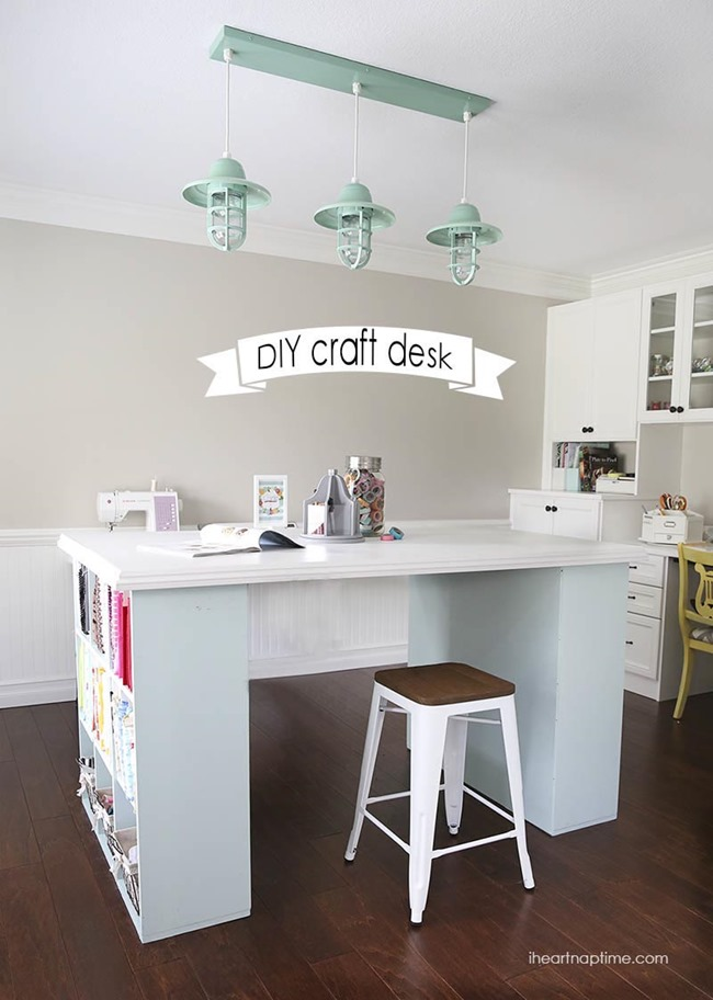 7 DIY Craft Desks