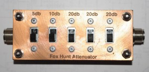 attenuator - Fox Hunting