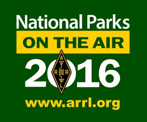 National Parks On The Air(NPOTA) Logo - Winter Field Day