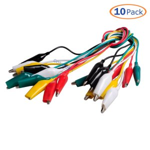 Jumper wires With Alligator clips