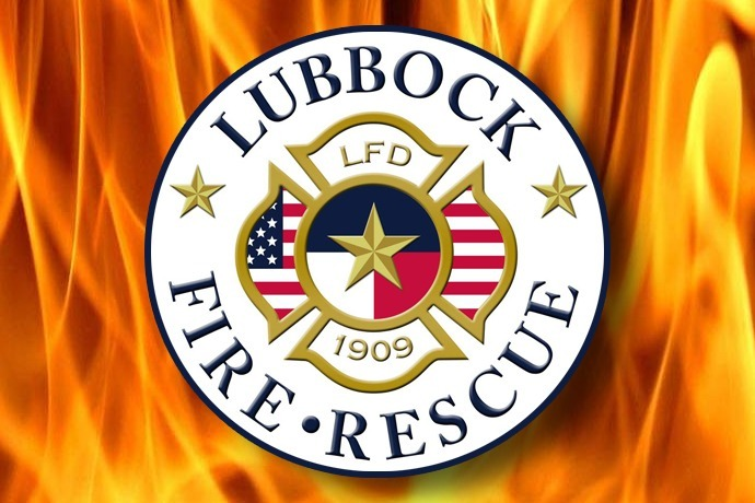 Lubbock Fire Rescue Department LFD Logo 690