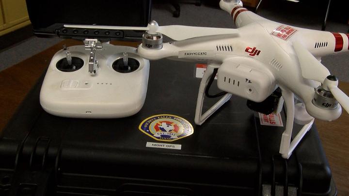 Wichita Falls FD Gets New Drones & Thermal Imaging Camera (Photo 1) - 720