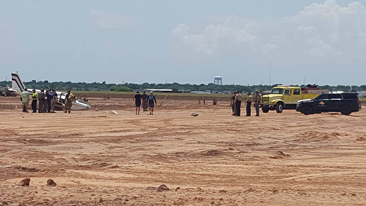 Plane Crash Amarillo Tradewind 720