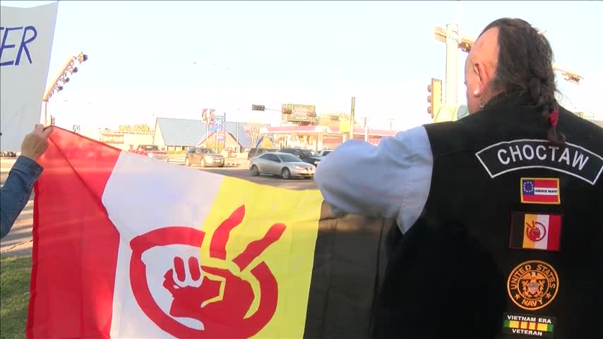 Lubbock Residents Protest Dakota Access Pipeline_35792001-159532