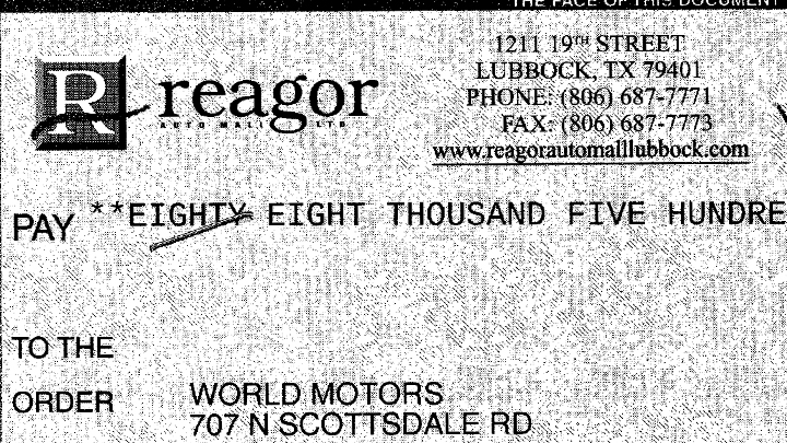 Reagor Dykes check 720 World Motors