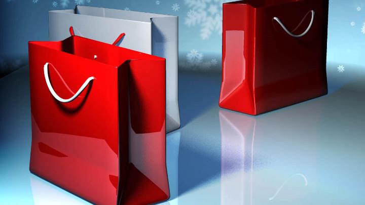 Christmas Holiday Shopping Bags - 720