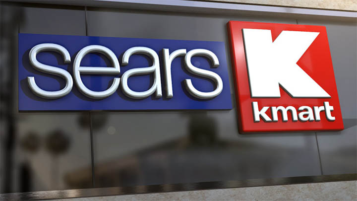 Sears and Kmart Logos - 720