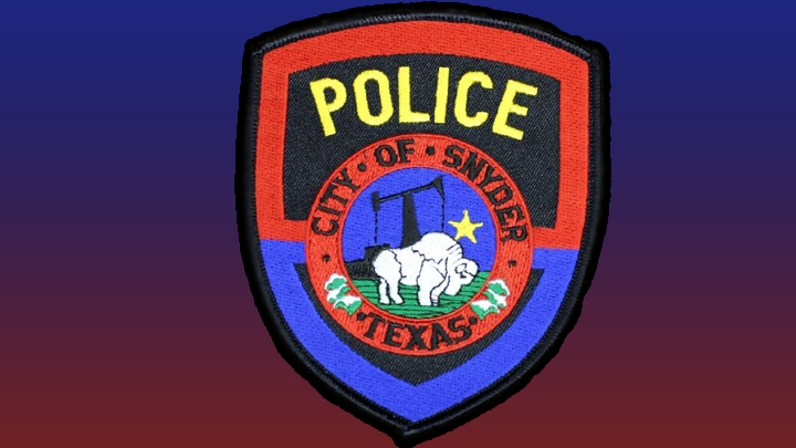 Snyder Police Patch 720