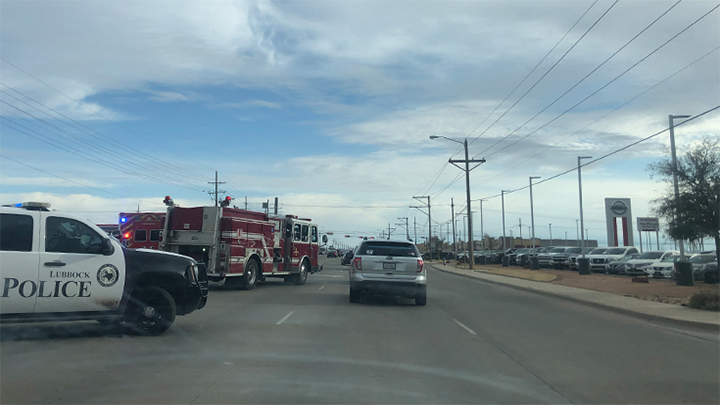 2 injured in Southwest Lubbock traffic accident late Saturday afternoon
