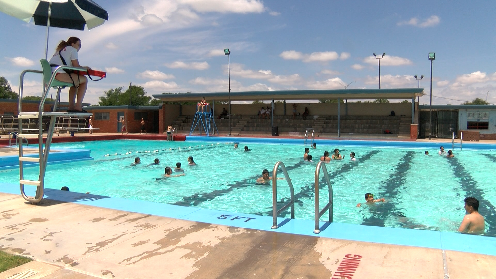 City of Lubbock Municipal Pools - 720