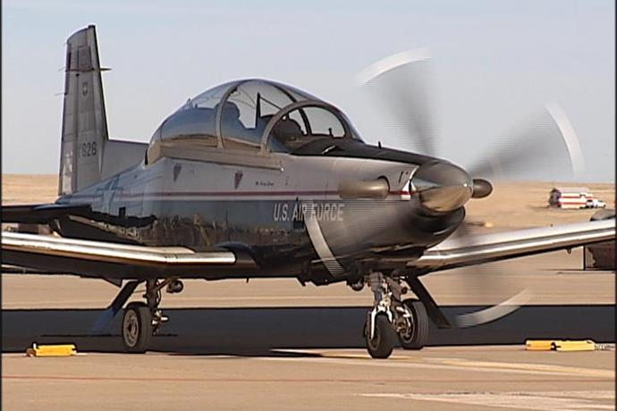 T-6 Texan II from Sheppard AFB