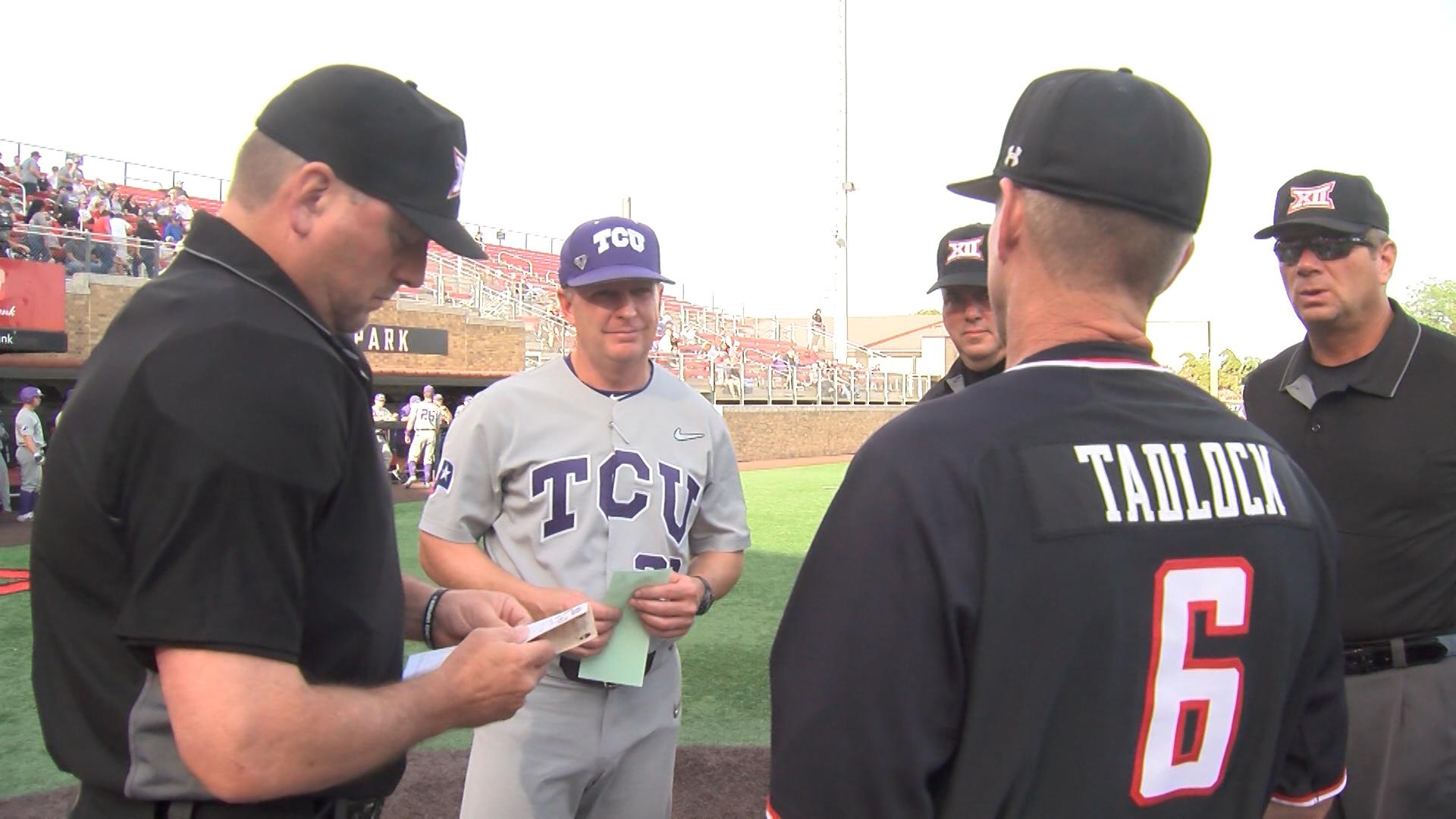 TCU at Tech Baseball