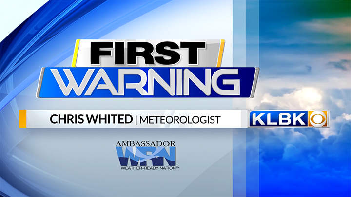 Chris Whited, KLBK Weather (2019) - 720