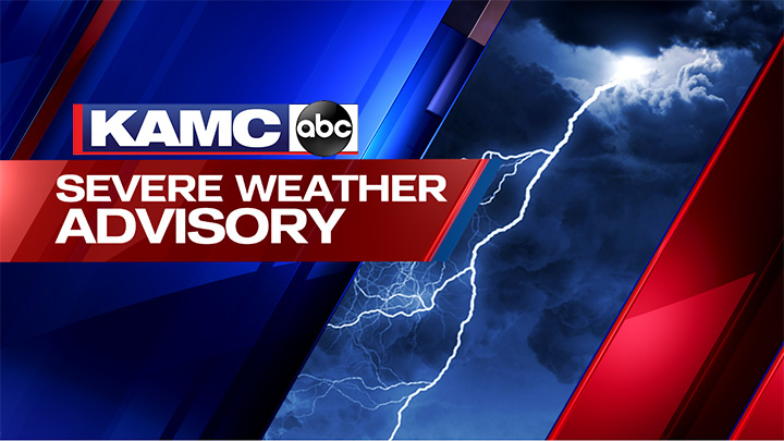 KAMC Severe Weather Advisory, With Logo - 720
