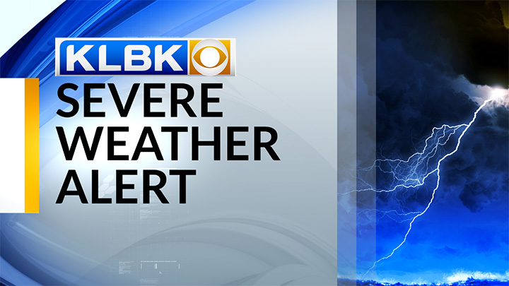 KLBK Severe Weather Alert, With Logo  - 720