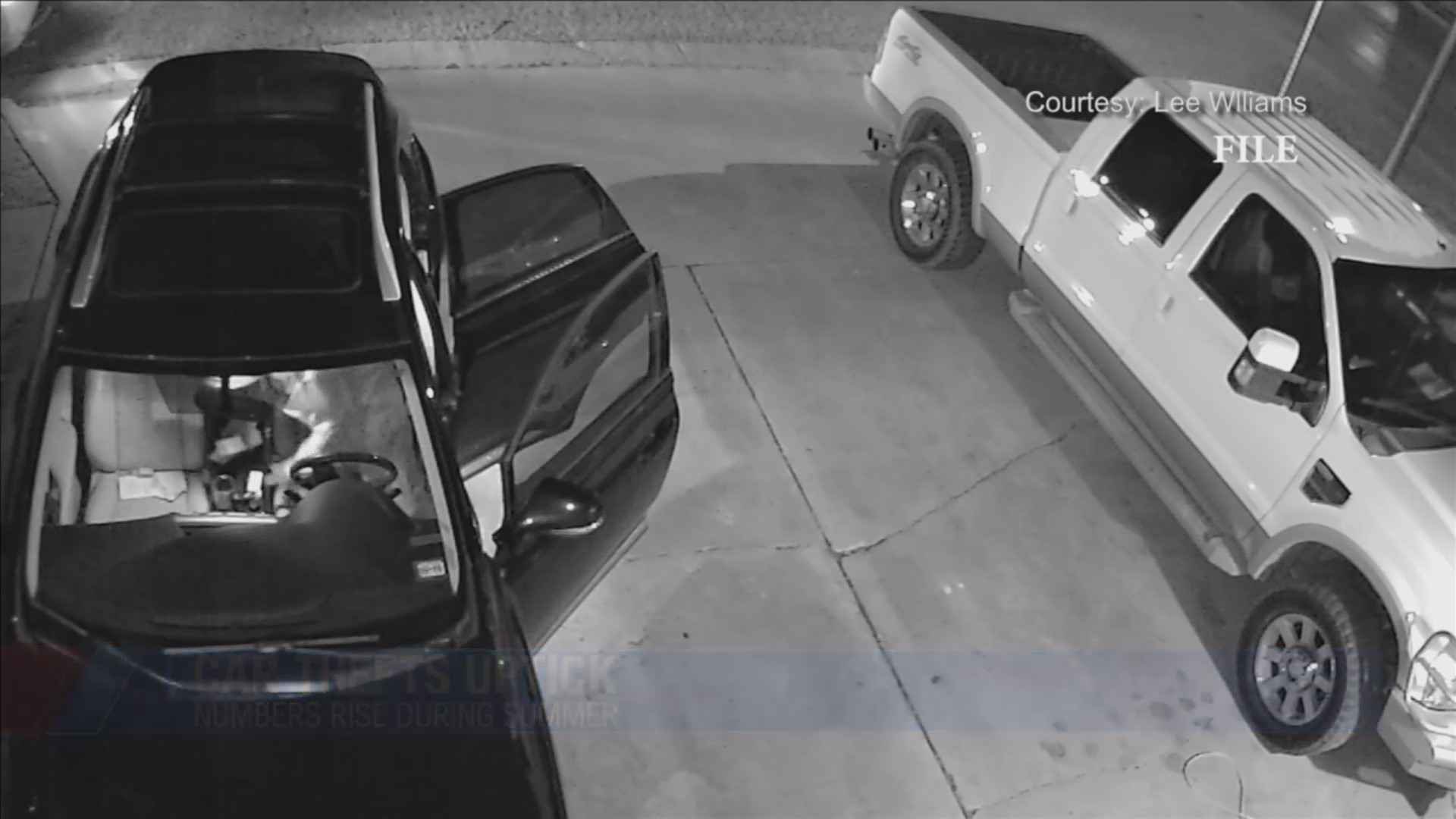 Summer months see increase in car thefts