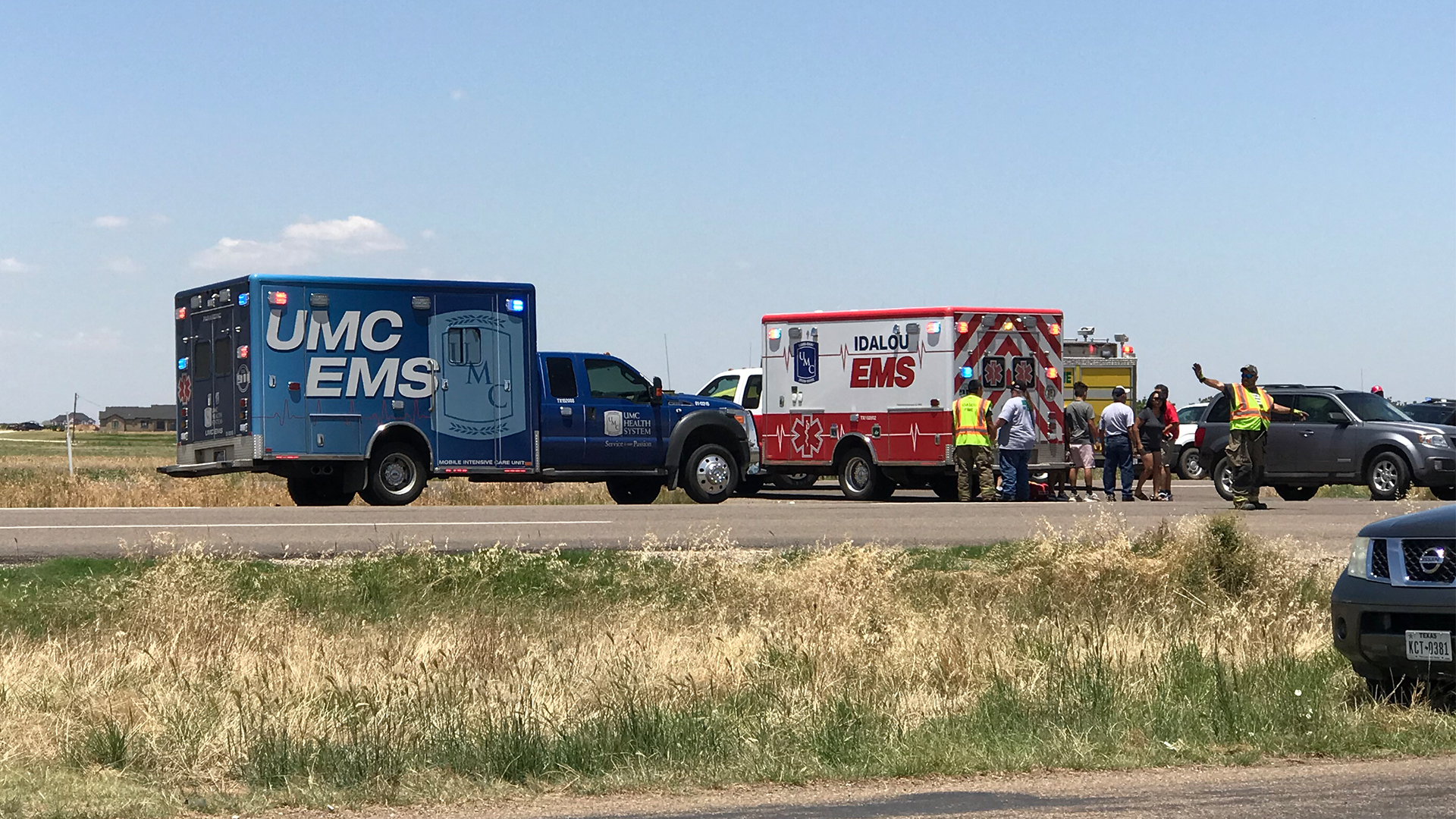 Moderate injuries reported following 2-vehicle crash in Idalou